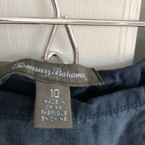 Tommy Bahama Skirts - NAVY LINEN TOMMY BAHAMA SKIRT